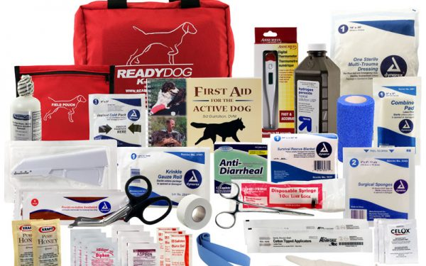 جعبه کمک اولیه سگ و حیوانات خانگی